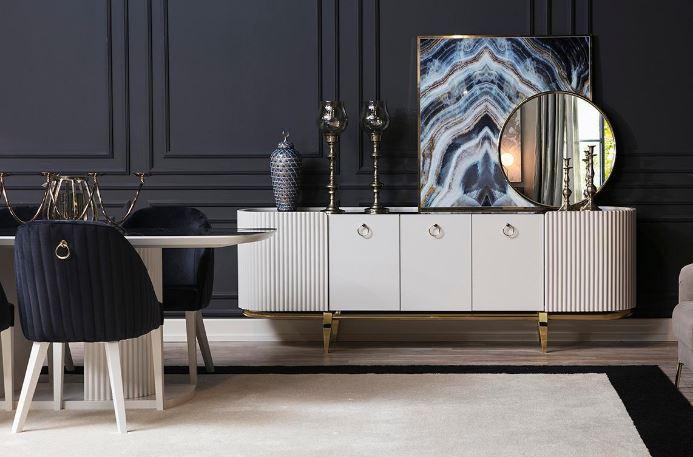 avangard yemek odası dekorasyon mobilyası
